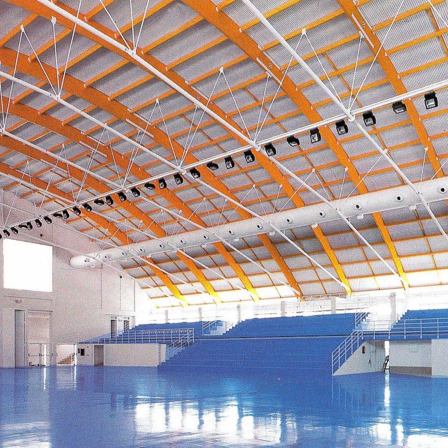 Polideportivo municipal de Cintruénigo_Glaria estudio arquitectura