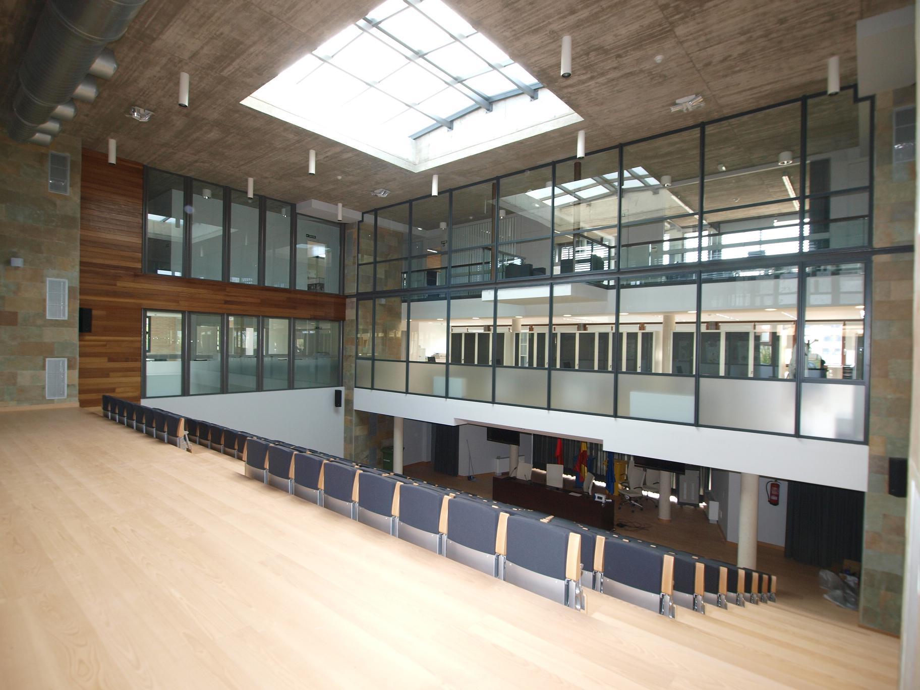 Sede mancomunidad ribera tudela glaria estudio arquitectura - Estudio arquitectura zaragoza ...