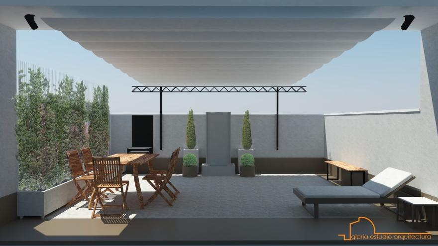 Paisajismo_Terraza_Glaria Estudio Arquitectura